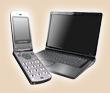 パソコンと携帯